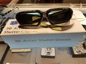 LUMEX Home Theatre Misc. Equipment 3D ACTIVE SHUTTER GLASSES